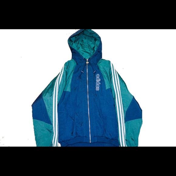 80's , 90's Vintage Adidas Puffer Jacket